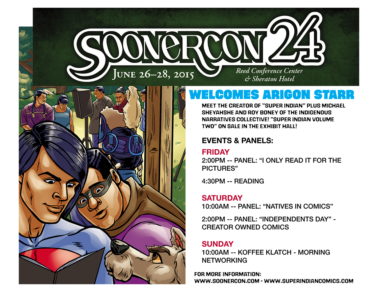 SoonerCon 2015 Flyer